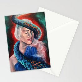 """Lilith"" Painting Stationery Cards"