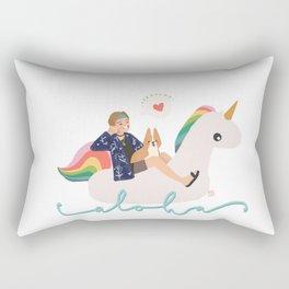 Bon Voyage Taehyung Rectangular Pillow