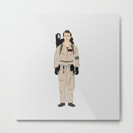 Ghostbusters - Peter Venkman Metal Print