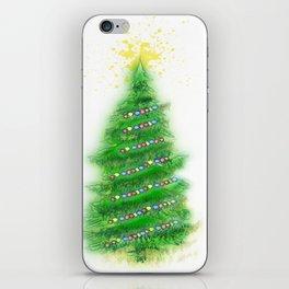 Christmas Tree 2 iPhone Skin