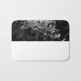 Houston map Bath Mat