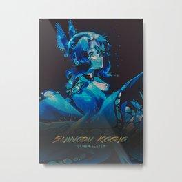 Shinobu Metal Print