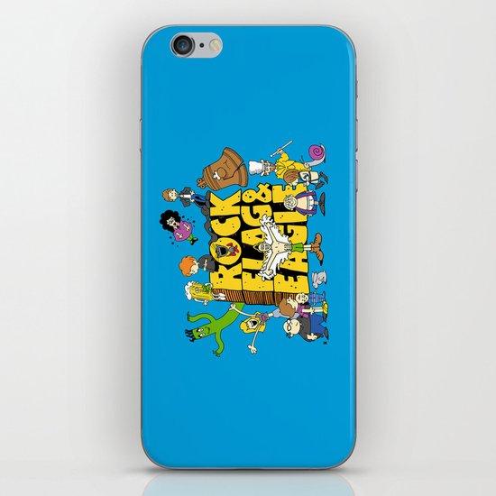 Rock, Flag & Eagle iPhone & iPod Skin