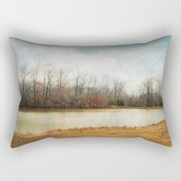 Goodbye Autumn Rectangular Pillow