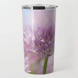 Allium pink macro 303 Travel Mug