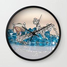 Rosary Wall Clock