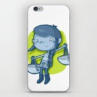 libra iPhone & iPod Skins featuring Libra by Chiara Zava