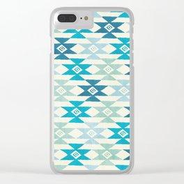 Triaqua Clear iPhone Case