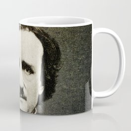Edgar Allan Poe Engraving Coffee Mug