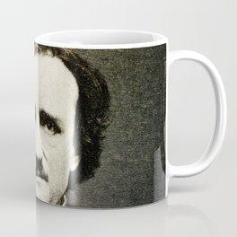 Edgar Allan Poe Engraving Coffee Mug