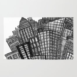 looking uptown (small) Rug