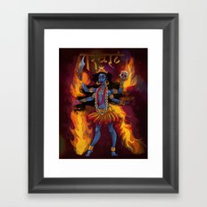 Kali Framed Art Print