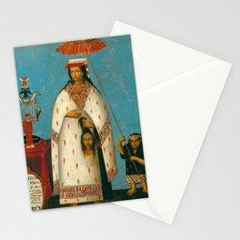 Inca Princess - La Gran Ñusta Mama Occollo, 1800s Stationery Cards