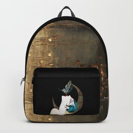 Butterfly Kiss Art Deco Remix Backpack