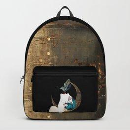 Butterfly Kiss Art Deco Remix Backpack