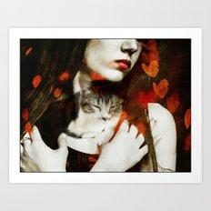 Love & Affection Art Print