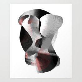 The Embrace 02 Art Print
