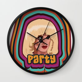 Katya Zamolodchikova - Party Wall Clock