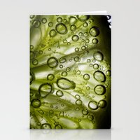lime Stationery Cards featuring Lime by Ryan Zimmermann