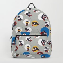 Pug Party Backpack