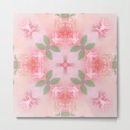 Abstract Roses SB72 Metal Print