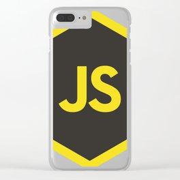 javascript js Clear iPhone Case