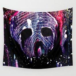 Cosmic Cranium Wall Tapestry