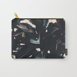 Dark Leaves Carry-All Pouch