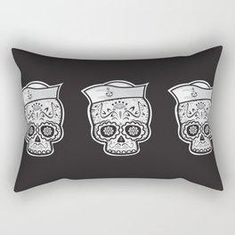 Marinero muerto sugar skull Rectangular Pillow