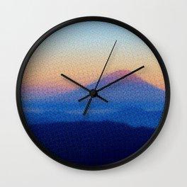 Halftony 3 Wall Clock