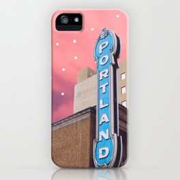 Portland, OR iPhone Case