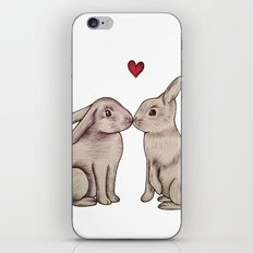 Love Bunnies iPhone & iPod Skin