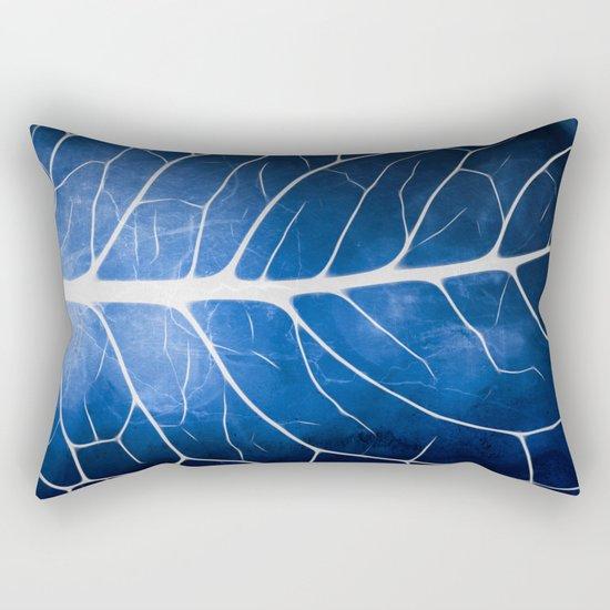 Glowing Grunge Veins Rectangular Pillow