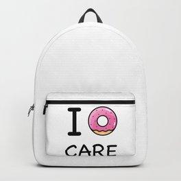 I donut care Backpack
