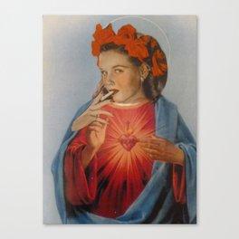 Mad Magdaline Canvas Print