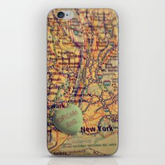 Dream Big New York iPhone & iPod Skin