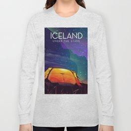 Iceland ' under the stars' Long Sleeve T-shirt
