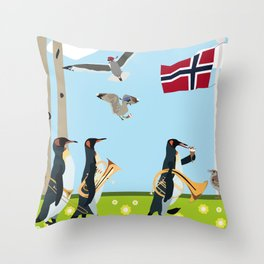 17th of may Throw Pillow