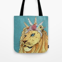 Poseidon, the Sealion Tote Bag