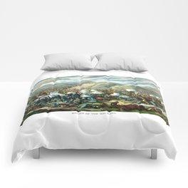 Battle Of The Big Horn Comforters