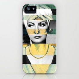 Matisse's Woman with a Turban & Greta Garbo iPhone Case