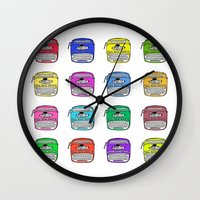write Wall Clocks featuring Write on by andy_panda_