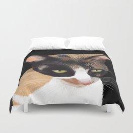 Calico Cat Duvet Cover