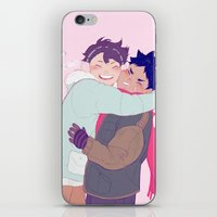 viria iPhone & iPod Skins featuring tiny iwaois by viria
