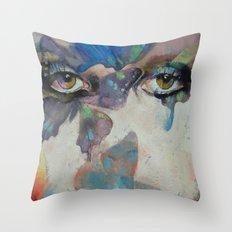 Gothic Butterflies Throw Pillow