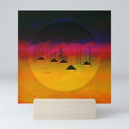Pink Horizon / Archipelago Mini Art Print