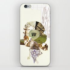 W is for Wolf iPhone & iPod Skin