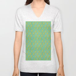 Cool cheese puffs fries pattern  Unisex V-Neck