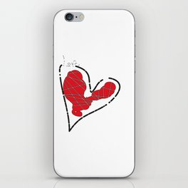 heart -valeria pappalardo artist iPhone Skin