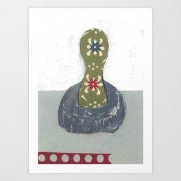 """STEVEN DANA COOKIE CUTTER """"BE UNIQUE"""" Art Print"""